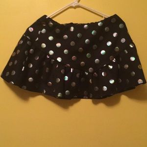 Boohoo Polka Dot Mini Skirt